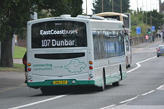 10198 (Callum's Buses & Stuff) Tags: lothianbuses edinburgh edinburghbus bus buses b7rle country busesedinburgh green cream a199 tranent haddington dumbar 107 124 x24 eastcoastbuses ecb