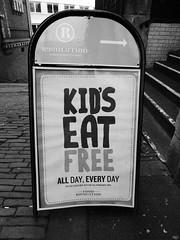 Kid's eat free, Bristol (duncan) Tags: bristol