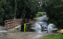 [44918] Rufford : Ford (Budby) Tags: rufford nottinghamshire ford water river bridge road