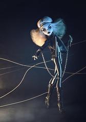 Wild side of beauty [2] (Klio.13) Tags: monsterhigh monster high mattel dolls dollphotography ooak custom customdolls toys toyphotography ghoulia ghouliayelps portraitooak caradelevingne caradelevingnedoll leatherjacket stripedpants handmadeoutfit