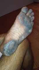 after 14 km walk (danragh) Tags: dirtyfeet barefoot piediscalzi