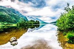 hdr Scottish Loch (safc1965) Tags: scotland hdr loch glen glenfinnan outdoors climbing scenery