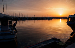 Marina sunrise (BoN.cz) Tags: sunrise sea port marina reflection sun morning boats ships yachts harbor fuengirola spain puerto deportivo andalusia spanish beautiful