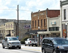 Cafe Texan (Rob Sneed) Tags: usa texas huntsville easttexas pineywoods walkercounty shsu historic sign architecture easthambuilding brick vintage neon cafetexan cafe meals samhoustonave hwy75 12thst shsc college university