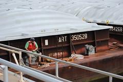 (wonder_al) Tags: lockdam dam lock minnesota mississippiriver wisconsin barges barge