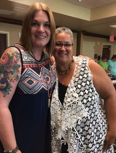 Donna Maria and Shawna Wilkerson