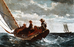 MA02565A (keatwilkins) Tags: boy sea people usa art boys water youth clouds america washingtondc us districtofcolumbia waves sailing unitedstates fineart paintings visualarts few teen boating teenager northamerica americans humanculture males northamericans whites recreation everydayscenes oilpaintings catboats winds bodiesofwater marinescenes seas pastime caucasian recreational adolescents midatlantic boaters twodimensionalworks americanperiodorstyle northamericanperiodorstyle figurativeart representationalart winslowhomer smallgroupofpeople usartperiodorstyle objectiveart locatedinnationalgalleryof recreationalsailors breezingupbywinslowhomer unitedstatesofamericaperio