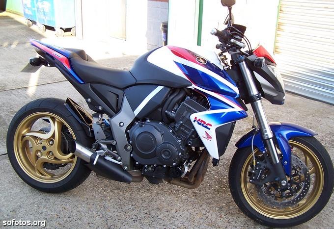 Honda CB 1000R 2009 Azul e Branca