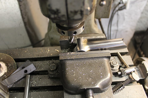 milling slot into bar clamp