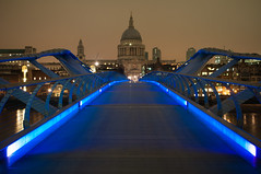 Millennium Bridge (Pat Charles) Tags: london england unitedkingdom bridge thames church cathedral night longexposure 1001nights 1001nightsmagiccity nikonflickraward nikonflickrawardgold rememberthatmomentlevel1 rememberthatmomentlevel2 rememberthatmomentlevel3 rememberthatmomentlevel4 mygearandme mygearandmepremium mygearandmebronze mygearandmesilver mygearandmegold mygearandmeplatinum mygearandmediamond
