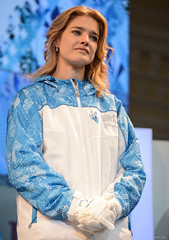 Sochi 2014 Unveils Torch and Uniform of the Paralympic Torch Relay (Sochi 2014 Winter Games) Tags: torch natalia olesya sochi 2014 paralympic   vodianova   sochi2014 2014    vladykina