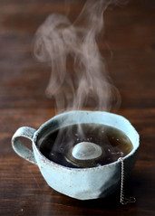 {3/52} Pretty Steam (Erica Lea) Tags: life 50mm still nikon tea steam mug project52 nikond7000