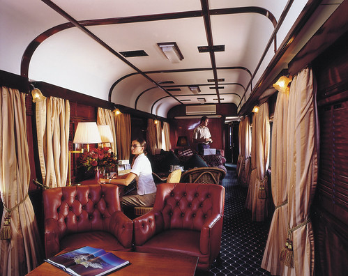 Rovos Rail from the Luxury Train Club - Lounge Car