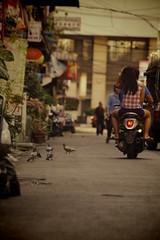Street in Bangkok (michibanban) Tags: trip travel thailand pentax k7 bankgkok 201212