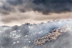 Valle Dell'Angelo (PIETRO VAIRO) Tags: photographer valle natura case neve piccolo nebbia pietro paese dellangelo parconazionaledelcilento piaggine nikond700 pietrovairo afsvrnikkor70300mmf4556ged