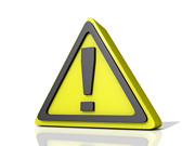 caution (One Way Stock) Tags: road sign danger warning point triangle symbol icon safety caution exclamation alertness