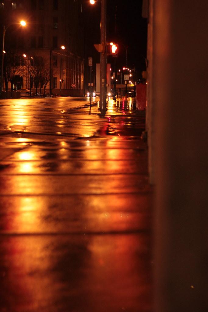 Sidewalk on Fire