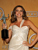 19th Annual Screen Actors Guild (SAG) Awards held at the Shrine Auditorium - Press Room Featuring: Sofia Vergara