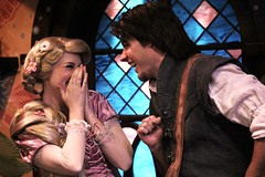 Rapunzel and Flynn Rider (Visions Fantastic) Tags: disneyland disney rapunzel tangled facecharacter flynnrider