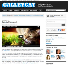 Media Bistro - Galley Cat - Catnip: Egress to Oblivion?