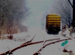 Waylaid (2bmolar) Tags: train day37 schuylkillcounty day37365 ourdailychallenge 3652013 365the2013edition 06feb13