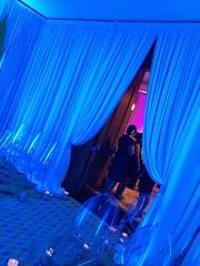 Blue Lighting - Drapery Lighting -