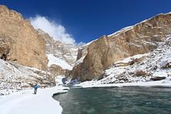 Chadar Trek (Partha) Tags: iphotooriginal trek himalaya zanskar frozen river february january extreme porter blue tibb camp cold winter ice snow ladakh india trekking demanding chadartrek chadar trekthehimalaya