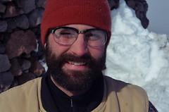 Me (gabriel amadeus) Tags: winter mountain snow oregon snowshoe spur cabin jane mount cooper hood sled tilly card2013