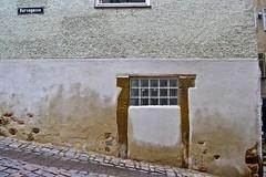 Bursagasse (What is in us) Tags: street sign germany textures altstadt myneighborhood tübingen