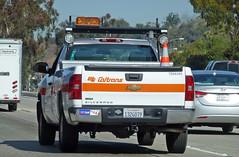 Caltrans Truck (Photo Nut 2011) Tags: california truck chevy freeway hyundai silverado caltrans elantra floodlights haulmark 7006395