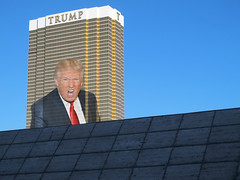 Trump : Chump / Buffoon Tycoon (shadowplay) Tags: lasvegas trump tycoon chump buffoon