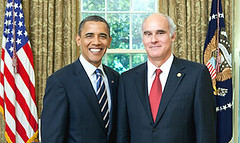 President Ombama and  EU Ambassador to the U.S. João Vale de Almeida