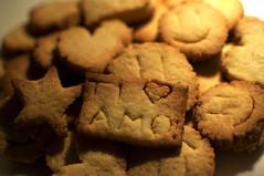 Just another random day... (Porfidax) Tags: light love smile 35mm star nikon cookie heart bokeh biscuit romantic nikkor d5000 nikonclubit