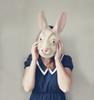 Getting sane again (daphne og.) Tags: portrait selfportrait rabbit bunny self vintage project soft dress mask alice inspired days dreamy 365 wonderland polkadot aliceinwonderland