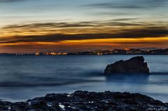Anochece en la Playa Larga (Long Beach Sunset) (aldairuber) Tags: rememberthatmomentlevel4 rememberthatmomentlevel1 rememberthatmomentlevel2 rememberthatmomentlevel3