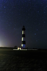 "Between Bears (hit ""L"" for this one) (snapdragginphoto) Tags: night stars northcarolina outerbanks ursamajor bodieislandlighthouse ursaminor kevindempsey my2boggan"