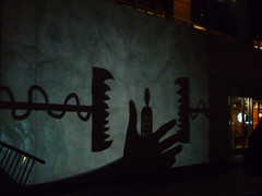 046 (wildwombat1) Tags: art projector melbourne shadowplay citysquare whitenight february232013 whitenightmelbourne february242013 thebeastsfrombehind