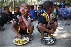 Lunch - Bandarban, Bangladesh (Maciej Dakowicz) Tags: people children asia orphanage orphans bangladesh bandarban