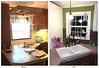 Kitchen Sink Corner, Before and After (vtrrbear) Tags: kitchen paint sink remodel kitchenremodelingproject