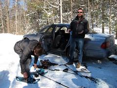 arrival at aldenland, upstate ny winter wonderland weekend! feb 2013... (Rachel Rampleman) Tags: snow iceskating upstatenewyork blizzard sledriding hudsonvalley mohonkmountainhouse rachelrampleman