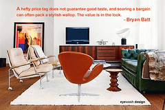 Bargains pack a Wallop. (eyewashdesign: A. Golden) Tags: life nyc newyorkcity winter inspiration newyork modern golden graphicdesign blog mod graphic furniture quote style punch february simple thursday bargain quotation eyewash wordstoliveby dailydose alane alanegolden eyewashdesign 2013 inspirationalquote thriftythursday eyewashdesignblog byanbatt thriftythursdayoneyewashdesign firstratequote