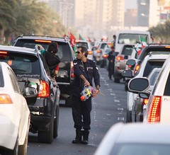 #2013 (12) (Fajer Alajmi) Tags: show red white black green cars plane war gulf 26 flag police 25 planes kuwait february feb q8  kwt      kuw              alfrsan  mseera