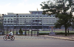 Saigon Nov 1968 - Independence Palace on Cong Ly (manhhai) Tags: 1969 1968 saigon brianwickham