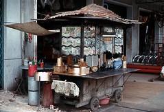 Noodle food vendor in Cholon (manhhai) Tags: 1969 1968 saigon brianwickham