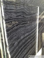 IMG_5046 (Haifa Limestone) Tags: black gray exotic haifa onyx slab semiprecious veined
