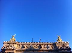 The Opera House. Opera. Paris. (holloway steve) Tags: paris france operahouse autaut iphone4 849am