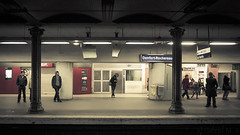 ... (Gabriel M.A.) Tags: paris france lumix metro mtro cropped f25 rer 16x9 denfertrochereau 14mm gf1 panasoniclumixg14mmf25asph