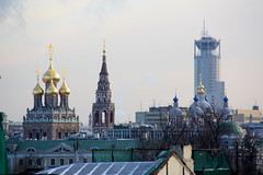 Cityscape (Matthieu Dalmasse) Tags: roof winter cold cityscape rooftops russia moscow