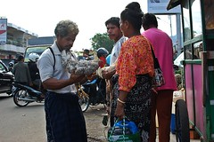 bargaining (behang) Tags: flores chicken indonesia market sarong maumere 2013 geliting
