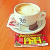 E nell'attesa.. #goodmorning (federica89a) Tags: morning italy food cute coffee breakfast bar cafe amazing drink awesome lucky goodmorning capucino instagram uploaded:by=flickrmobile flickriosapp:filter=nofilter